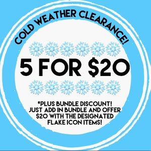 ❄️5 for $20❄️